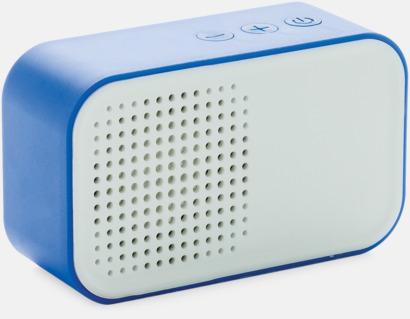 Blå Snygga högtalare med reklamtryck