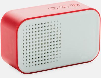 Röd Snygga högtalare med reklamtryck