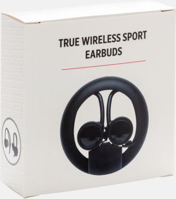 Presentförpackning Trådlösa sport öronsnäckor med reklamtryck