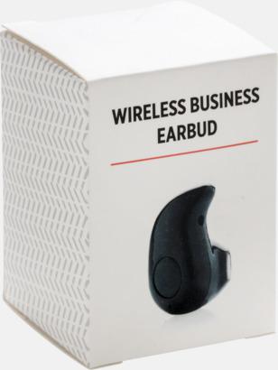 Presentförpackning Trådlösa öronsnäckor med reklamtryck