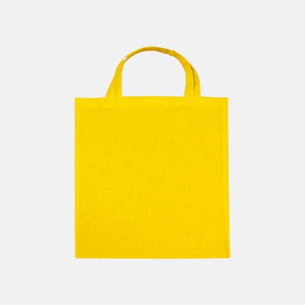 Buttercup (korta handtag) Tygpåsar med långa eller korta handtag i flera färger med eget reklamtryck