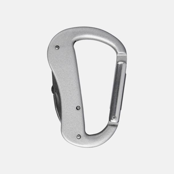 Silver Karbinhake-formade fickknivar med reklamtryck