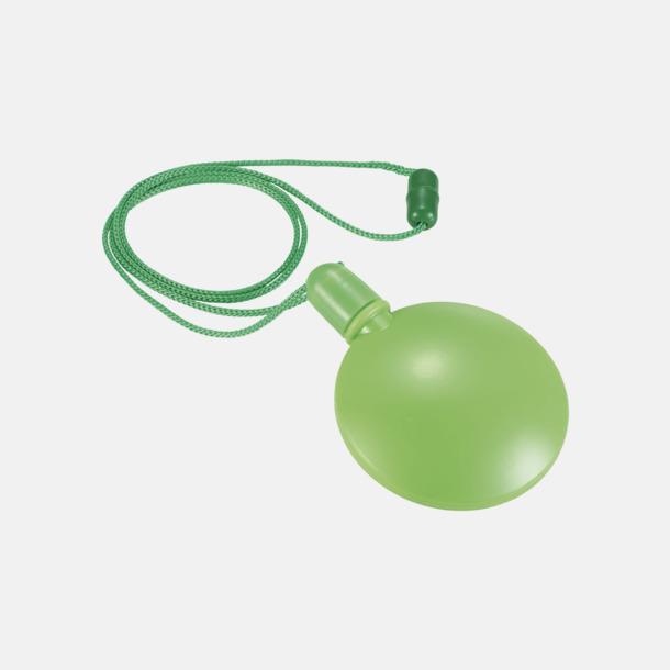Limegrön Behållare med såpbubblor - med reklamtryck