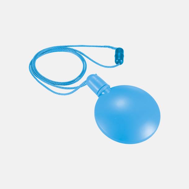 Blå Behållare med såpbubblor - med reklamtryck