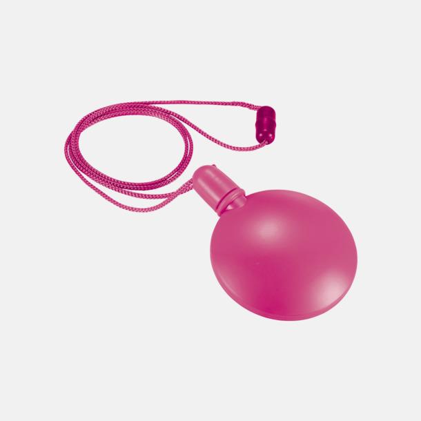 Fuchsia Behållare med såpbubblor - med reklamtryck
