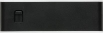 Universal USB 2.0-hub med reklamtryck