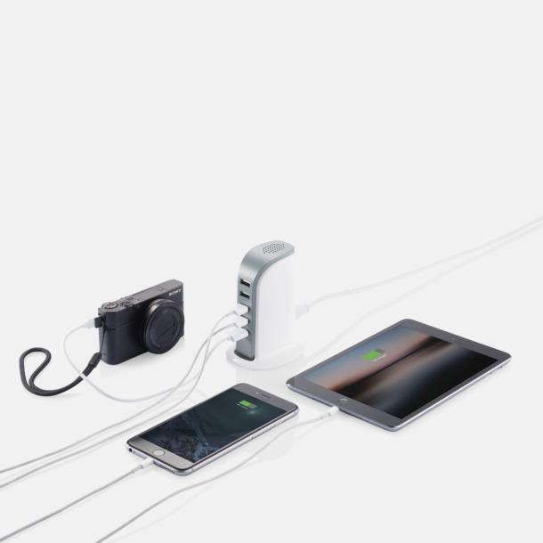 6 A-laddare med 5 USB-portar med reklamtryck
