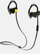 Trådlösa hörlurar med puls- & stegräknare med reklamtryck