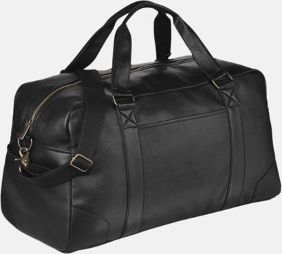 Resväskor i konstläder med reklamtryck