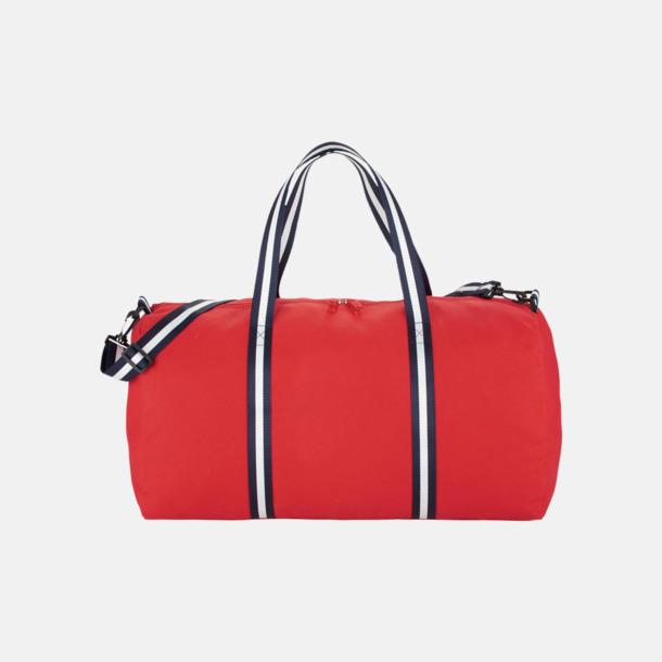 Resväskor i bomull med reklamtryck