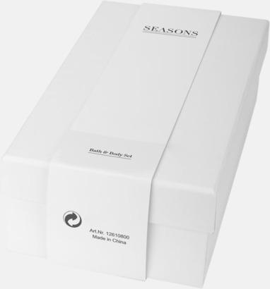 Presentförpackning Set med duschtvål & kroppslotion med reklamtryck