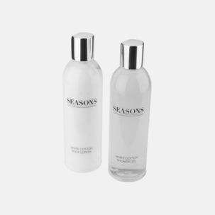 Set med duschtvål & kroppslotion med reklamtryck