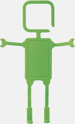 Limegrön Praktiskt mobilhållare med reklamtryck