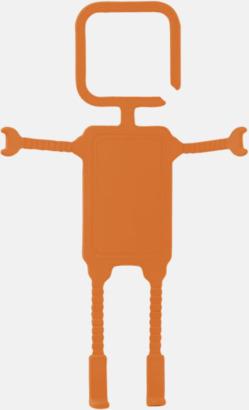 Orange Praktiskt mobilhållare med reklamtryck