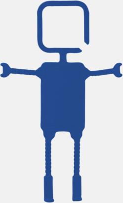 Blå Praktiskt mobilhållare med reklamtryck