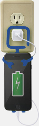 Praktiskt mobilhållare med reklamtryck