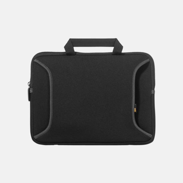 Svart Fodral för Chromebook eller Ultrabook - med reklamtryck