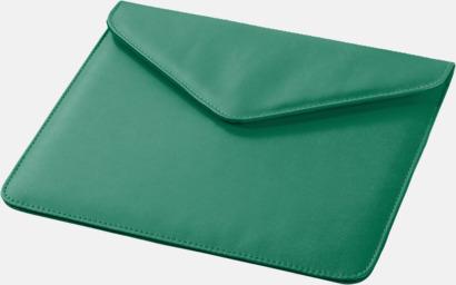 Grön Fodral för surfplatta med magnetstängning - med reklamtryck