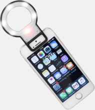Selfiespegel med LED-lampa med reklamtryck
