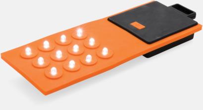 Orange Böjbara lampor med reklamtryck