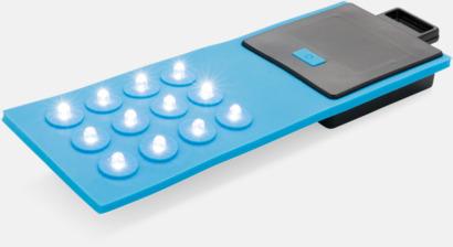 Blå Böjbara lampor med reklamtryck