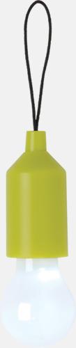 Grön Glödficklampor i nyckelringsformat med reklamtryck