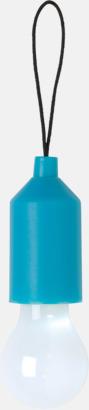 Blå Glödficklampor i nyckelringsformat med reklamtryck