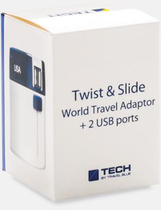 Presentförpackning Kompakta USB adapter med reklamtryck