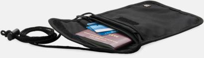 RFID-antiskimming reseplånböcker från Swiss Peak med reklamtryck