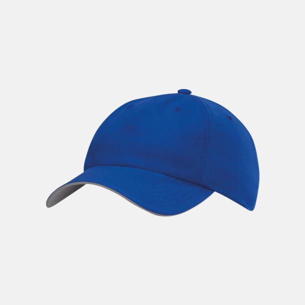 Bold Blue Adidas kepsar med reklamtryck