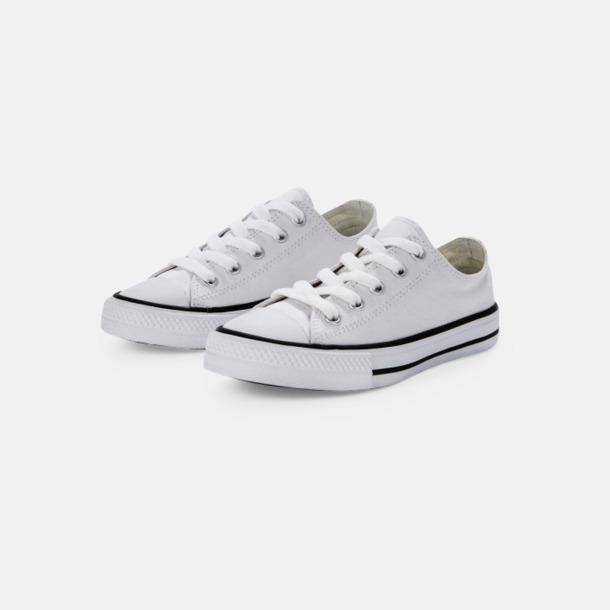 Låga (Vit) Sneakers med eget tryck