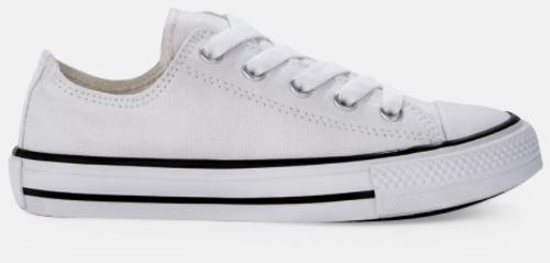 Sida (Vit) Sneakers med eget tryck
