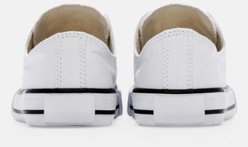 Bakida (vit) Sneakers med eget tryck