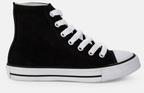 Sida (svart) Sneakers med eget tryck
