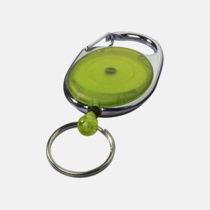 Korthållare med nyckelring - med reklamtryck