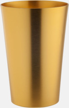Ölglas i aluminium med reklamtryck