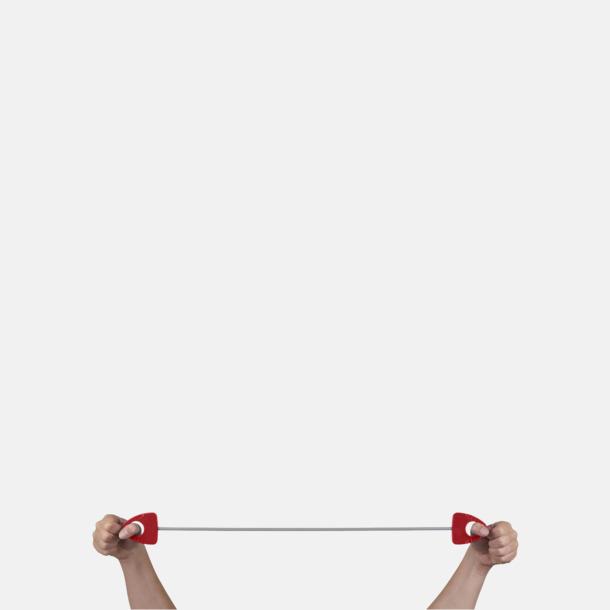 Träningsband med handtag med reklamtryck