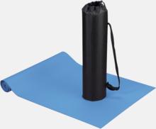 Fitness- & yogamatta med reklamtryck