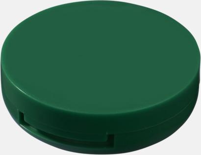 Grön Fickspegel med läppcerat med reklamtryck