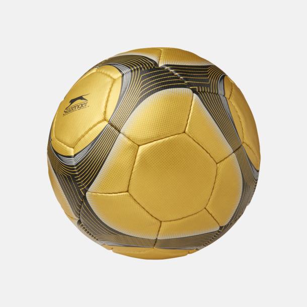 Guld Designade fotbollar med reklamtryck