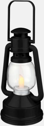 Svart Lanternlyktor med reklamtryck