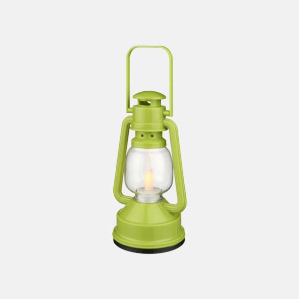 Limegrön Lanternlyktor med reklamtryck