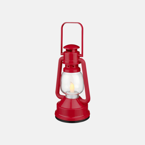 Röd Lanternlyktor med reklamtryck