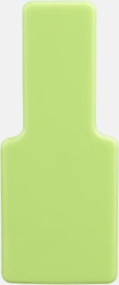 Limegrön Fäst mobilen vid datorn - med reklamtryck