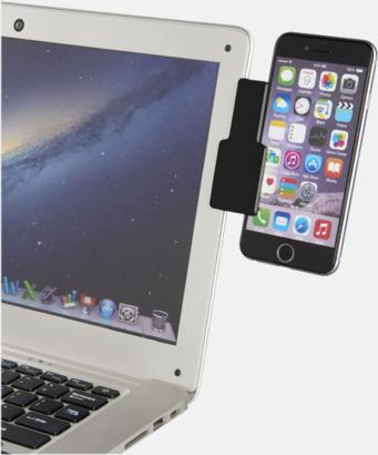 Fäst mobilen vid datorn - med reklamtryck