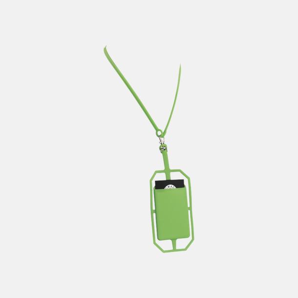 Silikonkortfickor med RFID-skydd med reklamtryck