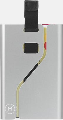Metallkorthållare med RFID-skydd med reklamtryck