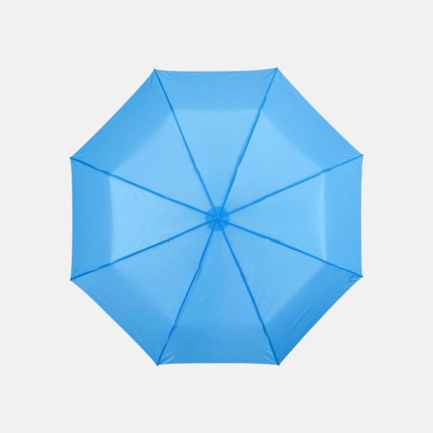Process Blue Kompakta paraplyer med eget reklamtryck