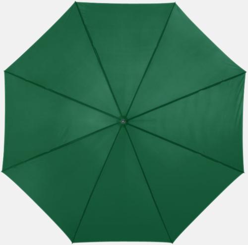 Grön Automatiskt paraply i flera färger med eget reklamtryck