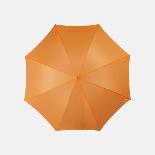 Orange Automatiskt paraply i flera färger med eget reklamtryck